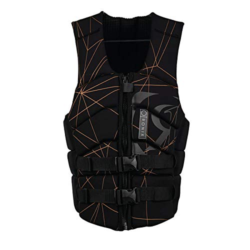 Ronix Kinetik Armor Foam - Impact Jacket - Black/Copper - L (2019)