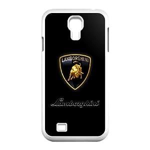 TPU Lamborghini logo_002 samsung s4 9500 Cell Phone Case White Protective Cover
