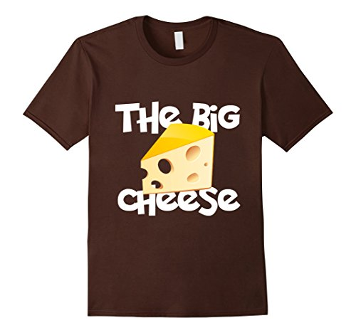 Men's THE BIG CHEESE T-SHIRT XL Brown (The Big Cheese compare prices)