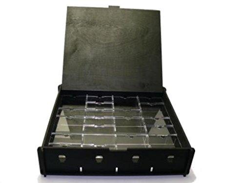 E-Raptor ERA93686 - Board Game Storage Boxes: Universal Box, schwarz