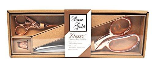 Klasse Needles B4724 Scissors Set, Multicolor
