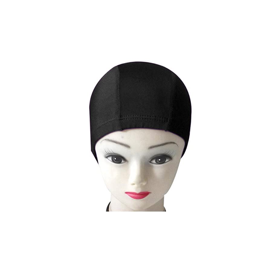 QY 2PCS Classy Series Polyester Cloth Fabric Bathing Cap Swimming Caps Swimming Hats for Water Sports