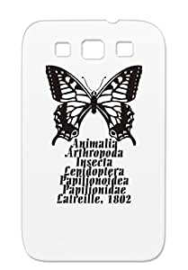 Miscellaneous Butterfly Insect Animals Nature TPU Case For Sumsang Galaxy S3 Red Swallowtail B