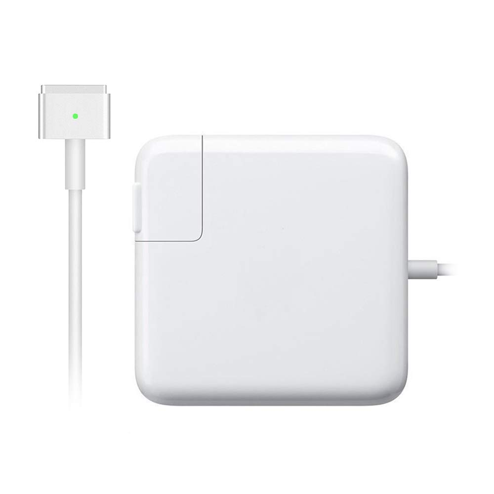 Fit for MacBook Air Charger, Replacement for 45W Magsafe 2 Magnetic T-Tip Power Adapter Charger for Apple MacBook Air 11 inch 13 inch 45W MS 2 T-tip