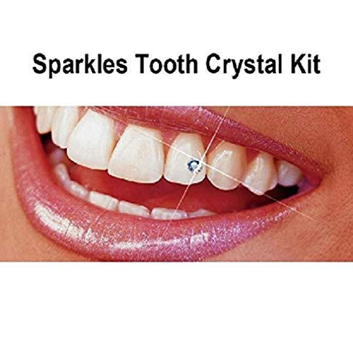 Belle G Tooth Crystal Kit - 20 Pieces Clear ()