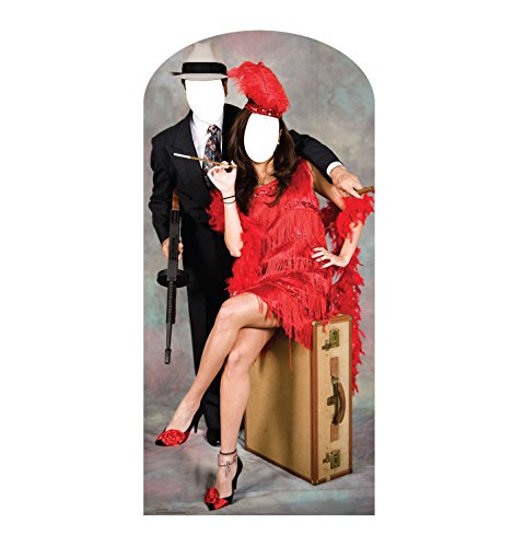 Advanced Graphics 20's Couple Life Size Cardboard Cutout Stand In