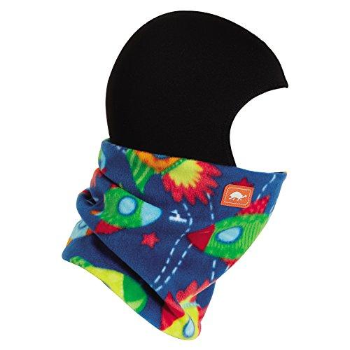 - Turtle Fur Kids Shellaclava One Piece Balaclava Playful Print Fleece Neck Warmer Count Down - Small