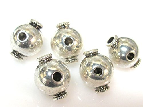 3 Guru beads - Tibetan large 3 hole Guru beads 14 mm x 18 mm - GB050