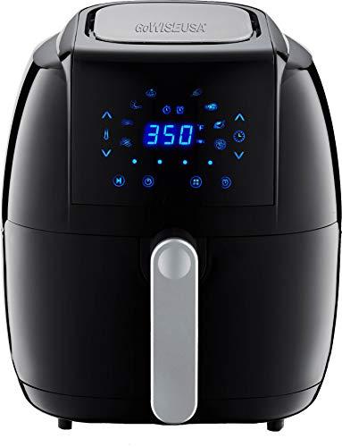 GoWISE USA 7.0-Quart 8-in-1 Digital Air Fryer XXL 50 Recipes