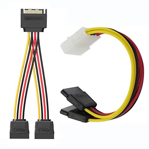 good SSD / SATA III Hard Drive Connection Cables (1x 4 Pin