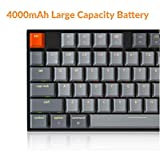 Keychron K8 Bluetooth Mechanical Keyboard, 87 Key