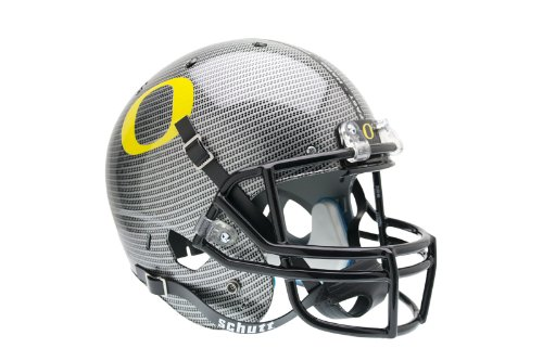 NCAA Oregon Ducks Replica XP Helmet - Alternate 4 (Carbon Fiber) by Schutt