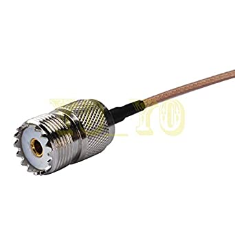 SMA Male RG316 12inch Pigtail UHF Female Cable coaxial RF Adapter: Amazon.com: Industrial & Scientific