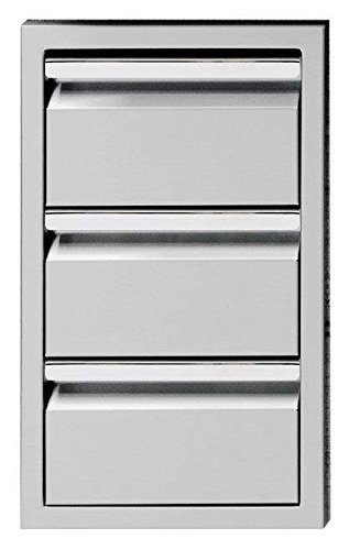 Twin Eagles TESD133-B Triple Storage Drawer, 13 Inch