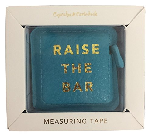 Raise The Bar Boss Girl Gold Hot Stamped Measuring Tape in Gift Box by Cupcakes & Cartwheels