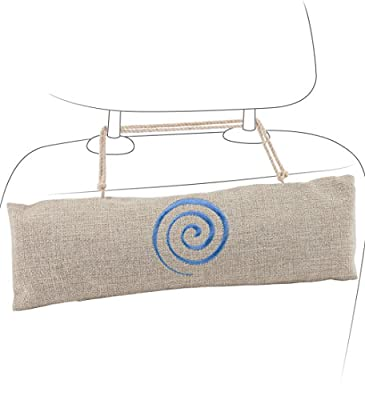 Car Air Freshener - Bamboo Charcoal Air Purifying Bag by Osmose - Absorbs and Eliminates Odor - Fragrance and Chemical Free