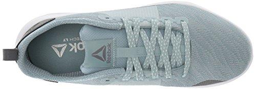 Reebok Womens Astroride Walking Shoe Whisper Verde Acqua / Lega / Bianco
