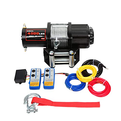 X-BULL 4500LBS Winch (Steel Cable)
