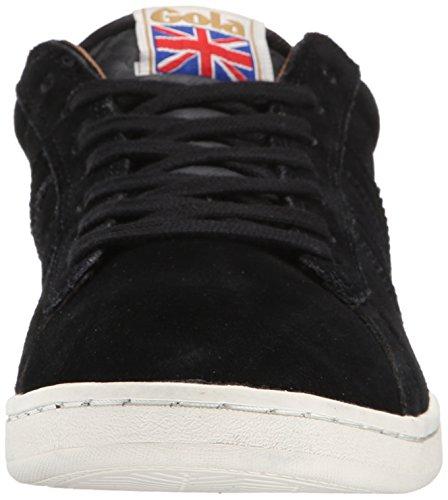 Gola Heren Equipe Suede Mode Sneaker Zwart