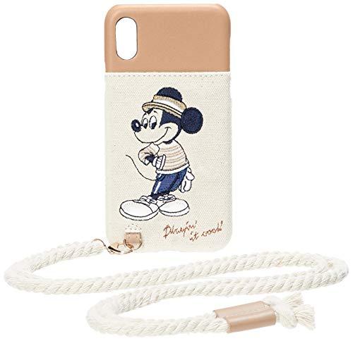 accommode (아코모데) 디즈니 마린 룩 아이폰 케이스 D-ST364 미키 미니 iPhoneX/Xs 대응