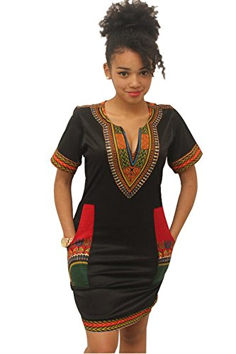 midi african dresses - 2