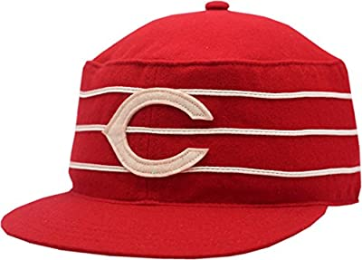 Cincinnati Reds Hat Strapback Cooperstown Collection Wool Provider 11433