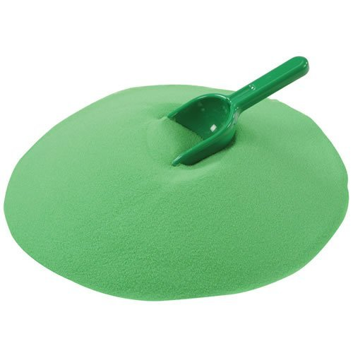 Constructive Playthings Crayola Green Play Sand 20 Pound Bag ()