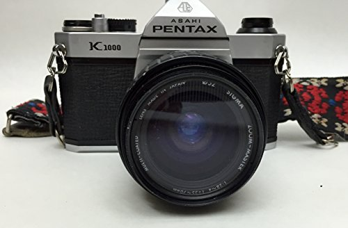 SMC Pentax-M 50mm F1.7 manual focus lens.