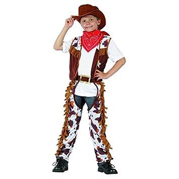 Disfraz cowboy niño - 7 - 9 años: Amazon.es: Juguetes y juegos