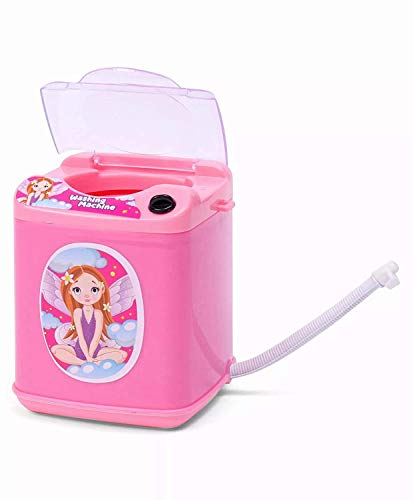 tiny souls miniature automatic top load washing machine | pack of 1- Multi color India 2021