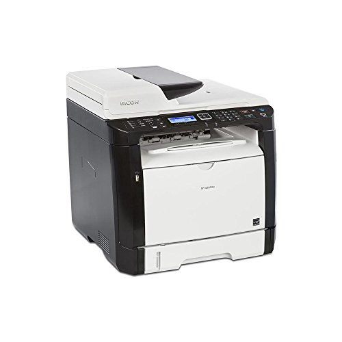 Ricoh 407983 SP 325SFNw Fax/Copier/Printer/Scanner, (Ricoh Plain Paper Fax)