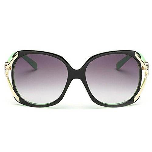 Women's Modern Fashion Mirror Driving Sunglasses Classic Resin Wild Face-lift Goggles - Sunglasses Wild Wood