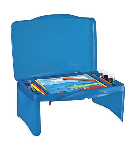 Collapsible Folding Lap Desk, in Blue