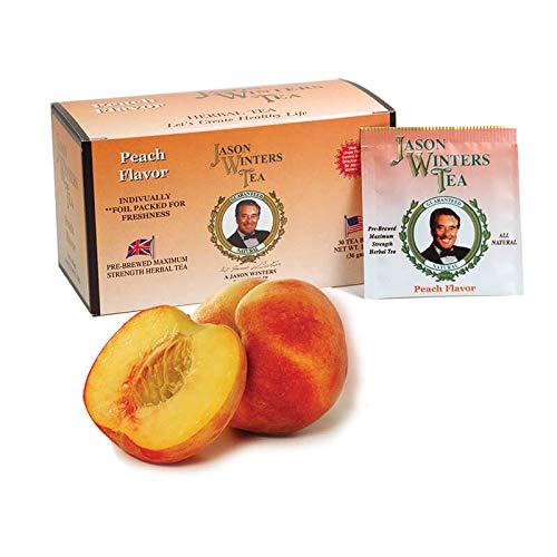 Peach Flavored Tea Bags (Jason Winters Red Clover)