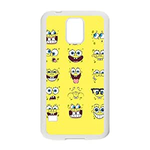 Happy Ponge Bob Squarepants Design Best Seller High Quality Phone Case For Samsung Galacxy S5