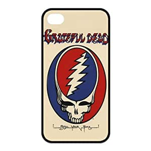 Painted Grateful Dead TPU Hard back phone Case cover iPhone 4s 4