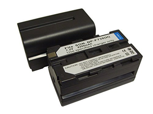 CBK 4200mAh New Video Camcorde Battery for Sony DCR-VX1000 DCR-VX2000 NP-730 NPF730 NP-F730H NP-F750 by Best Compu