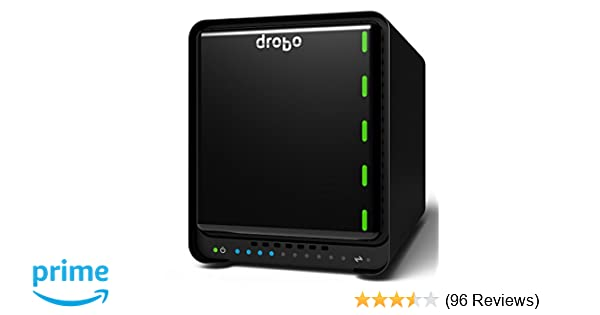 Drobo 5D3 5-Drive Direct Attached Storage (DAS) Array – Dual Thunderbolt 3  and USB 3 0 type C ports (DRDR6A21)