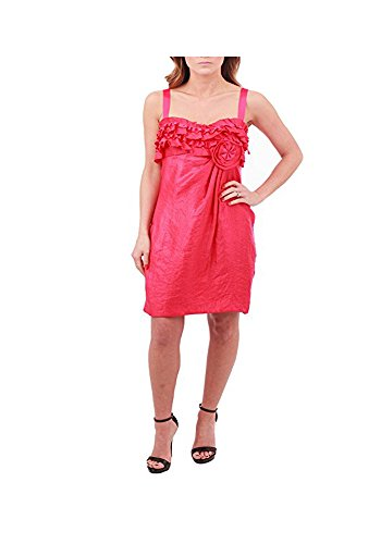 (Alexia Admor Ruffled Floral Cocktail Dress, Pink, Small)