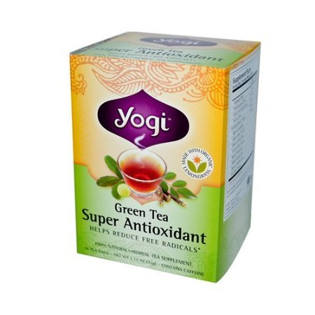 - Yogi Green Tea Super Antioxidant (3x16 Bag)