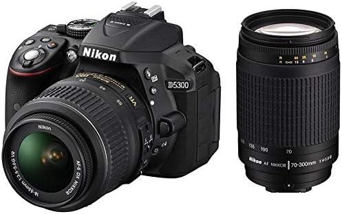 Nikon D5300 Digital Camera, 18-55mmVR, 70-300mm f/4-5 6G: Amazon com