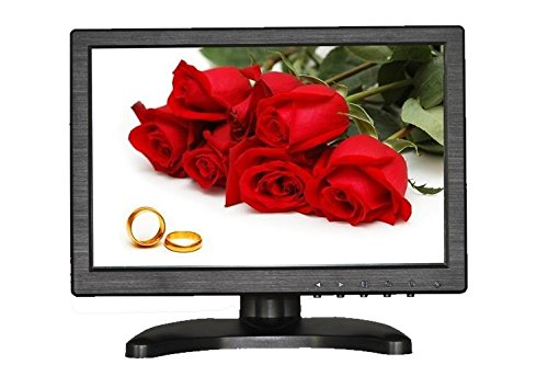 BacchaBox 10.1 Inch LCD HD Monitor with High Definition Multimedia Input/VGA/BNC/Composite Inputs (16:9)