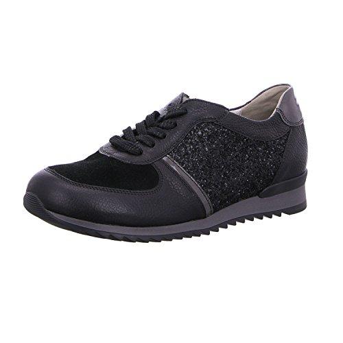 Waldläufer À Pour Lacets Femme Ville Noir De 400 370008 564 Chaussures qw8qYOr