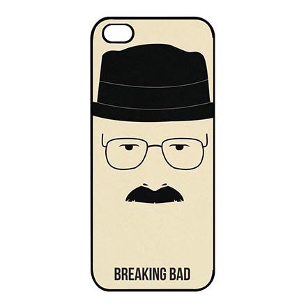 Celebrity Designed TV Shows Breaking Bad iPhone 5C Thin Flexible Plastic Cover Case, Dust Proof Lightweight Cases for iPhone (Iphone 5c Cases Of Mice And Men)