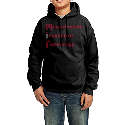 AKAA Teenagers's Hooded Sweatshirt Massachusetts Institute Of Technology Black