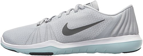 Nike Poly da pantaloni Dark Grey Legend white Wolf allenamento da Slim Fit donna Grey qZrq4pwx5