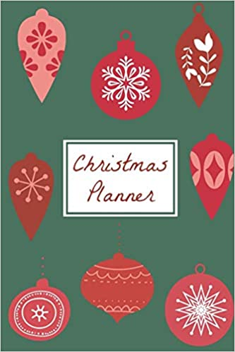 Christmas 2019 Calendar.Christmas Planner A 2019 Calendar Weekly Planner And
