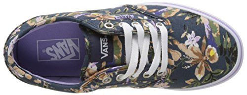 Vans Wm Atwood, Zapatillas para Mujer Azul (Floral)
