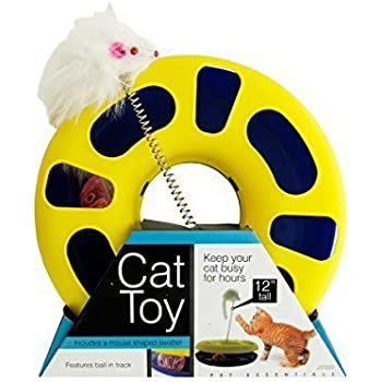 Amazon Com Kole Bulk Buys Od386 1 Ball Track Cat Toy