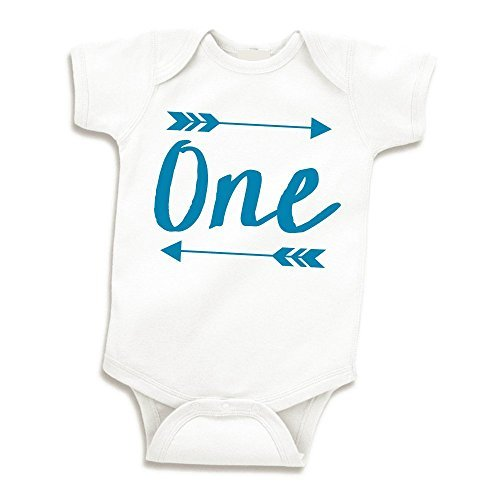 Boy Birthday Shirt Baby First Bodysuit Blue 12 18 Months